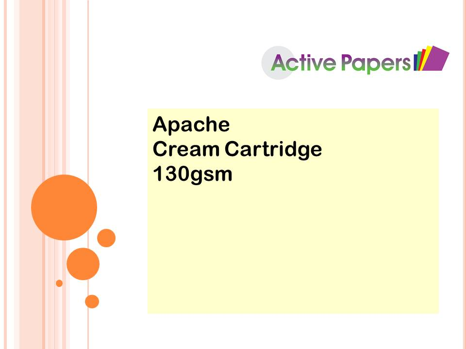 Apache Cream Cartridge 130gsm