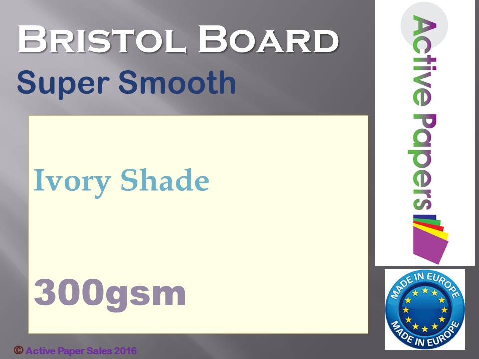 Bristol Board 300gsm Ivory LOW STOCK