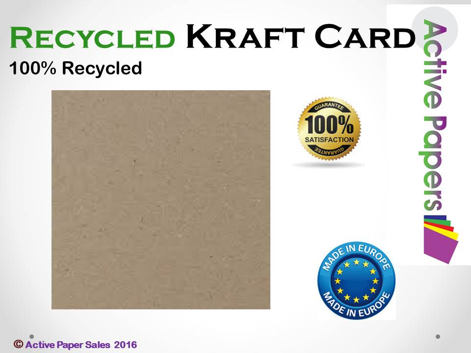 250gsm Brown Kraft Card 1000 sheets