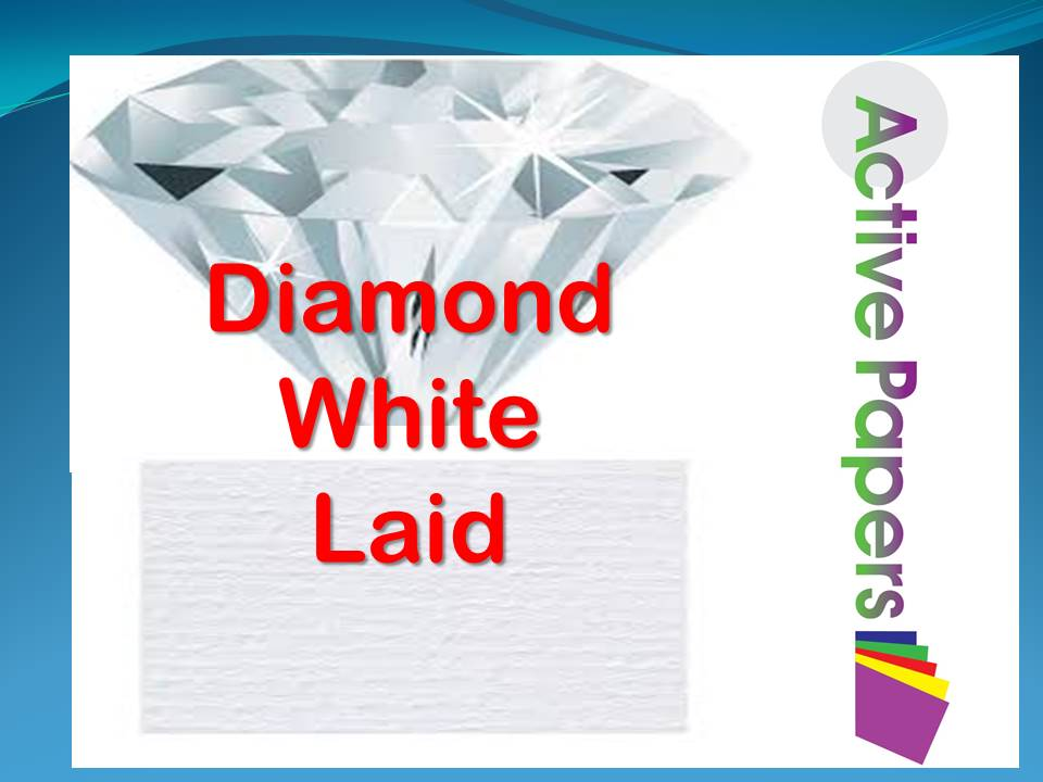 Diamond White Laid Paper 100gsm