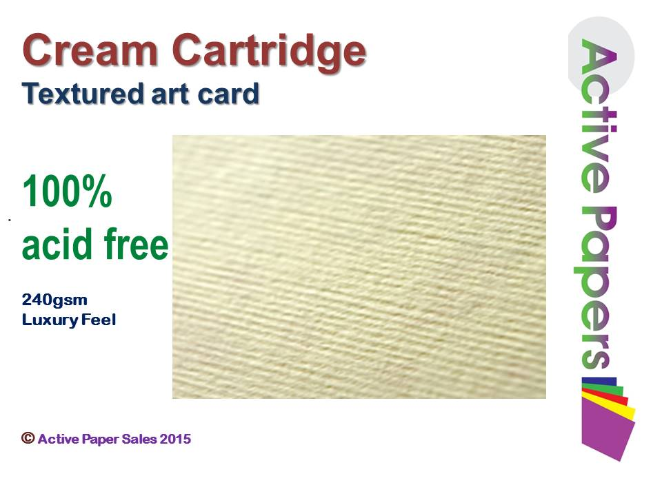 Textured Cream Cartridge 160gsm