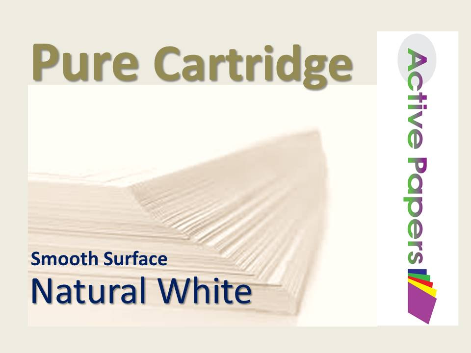 Pure Cartridge Natural White 100gsm