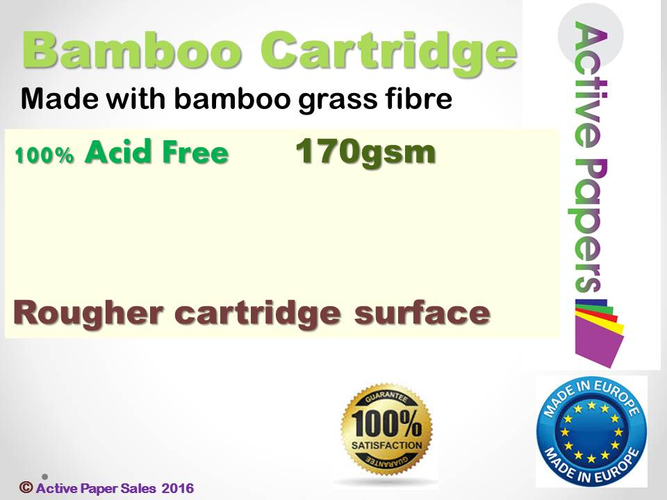 Bamboo Cartridge 170gsm A1 size