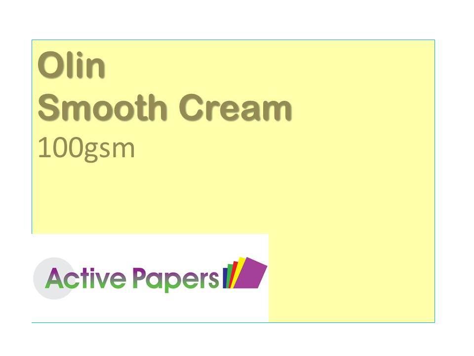 Cream Smooth 100gsm Olin Brand