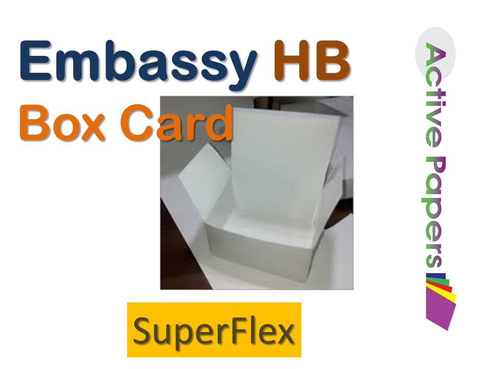 Embassy Box Card 250gsm 12x12 50 sheets