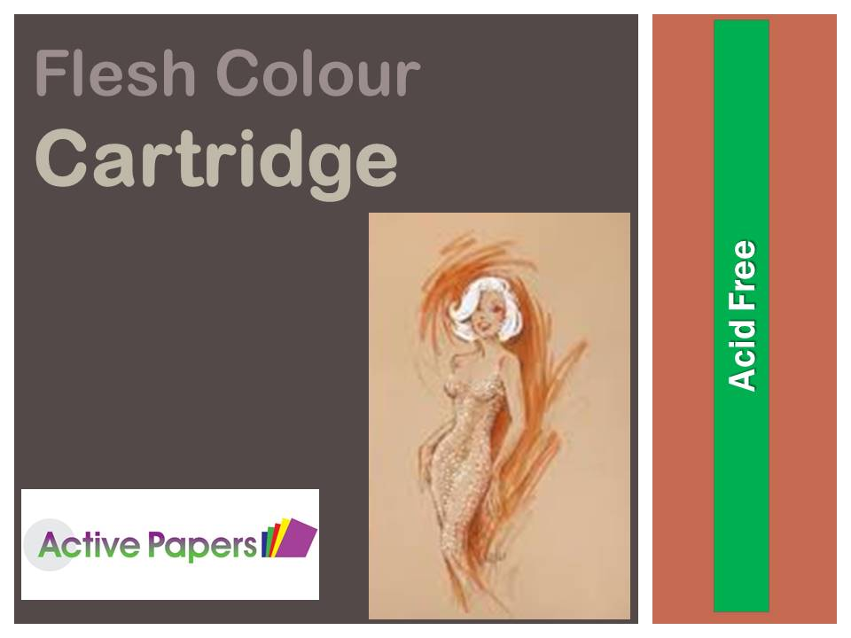 Flesh Coloured Cartridge 170gsm last few packs on sale 60% off