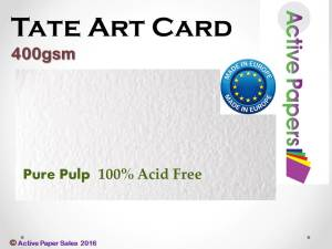 Tate Art Card 400gsm A4 20 sheets