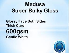Medusa Gloss Extra Thick  600gsm A1+ 20 sheets