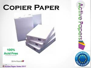 80gsm pure white copier paper A3