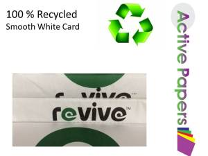 Revive Smooth Recycled  12x12 300gsm