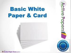 Basic White Card 320gsm 50sheets A1+