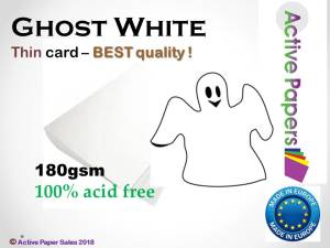 Ghost White 180gsm for Colour Prints