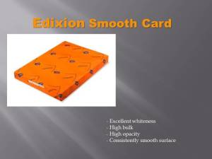 Edixion Smooth 350gsm 12x24 50 sheets