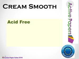 Smooth Cream 12x12 120gsm 50 sheets ON SALE