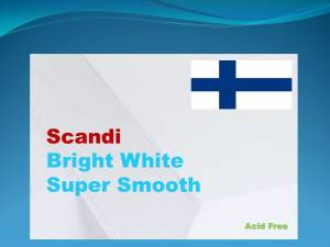 170gsm Scandi Smooth Card