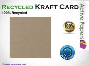 Kraft Brown Thick Card 280gsm A1 20 sheets