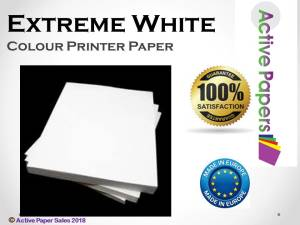 170gsm Extreme White Smooth Matt Card