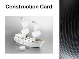 Construction Card 750 microns