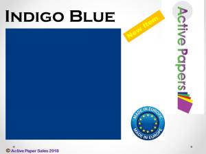 Blue Indigo Smooth 12x12 270gsm 10 sheets