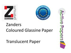 Vellum Translucent 12x12 100 sheets mixed colours 100/200gsm