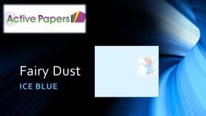 Fairy Blue Dust 250gsm 12x12 or 12 x 24 20 sheets