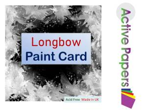Longbow EXTRA Thick Paint Card 500gsm