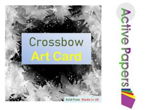 Crossbow Friction Glazed Thick Paint Card 550gsm