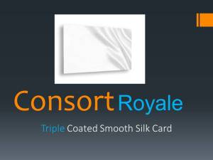 Consort Royale Triple Silk 300gsm