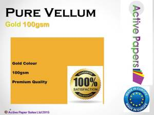 Vellum  100gsm Bright Orange