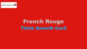 Rouge Red Smooth 320gsm