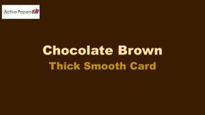 Brown Card Smooth 300gsm