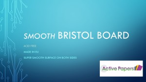 Bristol Board 300gsm Bright White