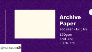 Archive Paper 170gsm