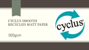 Cyclus Smooth Cartridge 160gsm