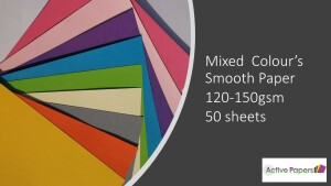 Colour Mix Paper 12x12 50 sheets
