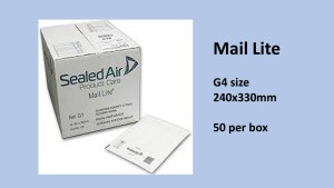 Mail Lite Padded Envelopes G4 240x330mm 50 per box