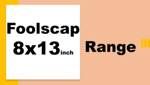 8x13inch foolscap range of white card 80-350gsm