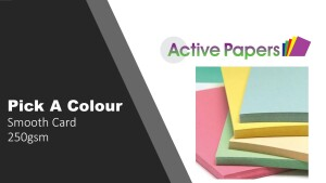 Coloured Card 250gsm - pick a colour